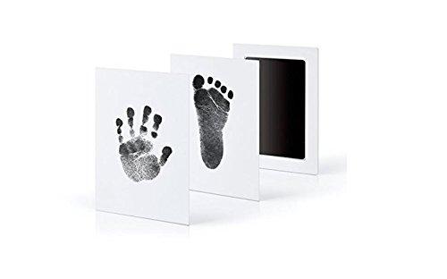 HSDDA Hand- und Fußabdruck-Set für Babys, ohne Tinte