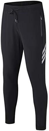 Extraordinary Men's quick-drying sports pants gym training running pants high stretch sports pants jogging