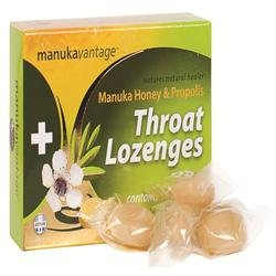 Manuka Lutschtabletten (Manukavantage Manuka Honey & Propolis - 16 Manuka Hönig Hals-Lutschtabletten)