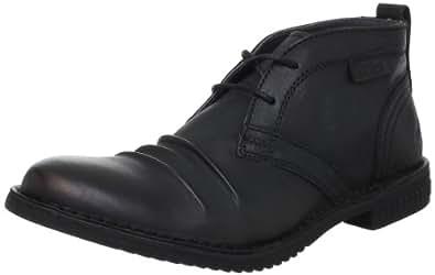 Kickers Jecho, Chaussures à lacets homme - Noir, 45 EU