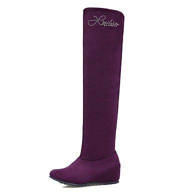 Women's Boots Fashion Boots Fall Winter Nubuck leather Fabric Casual Rhinestone Low...