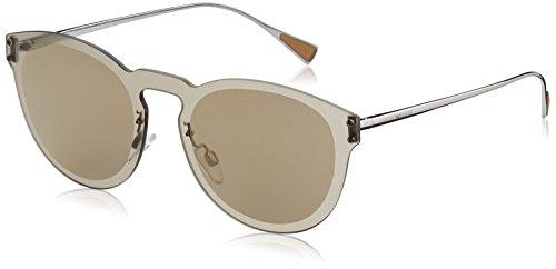 Emporio Armani Herren 0EA2049 30105A 43 Sonnenbrille, Grau (Brown Gold),