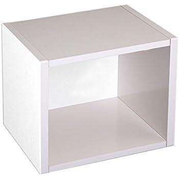 modul w rfelregal standregal m73 33x34x29 cm wei drehbar k che haushalt. Black Bedroom Furniture Sets. Home Design Ideas
