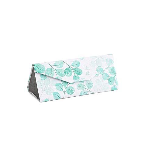 Achidistviq fashion occhiali custodia pieghevole triangolo magnetico portatile occhiali da sole box protector 4#