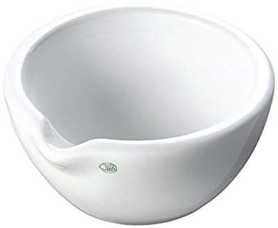 neoLab E-1136Porcelain Mortar with Spout, Rough, 110mm x 55mm, 110ml by neoLab