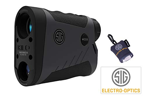Sig Sauer BDX Rangefinder Kilo1800 Laser Entferungsmesser + Putztuch+Aufkleber GRATIS
