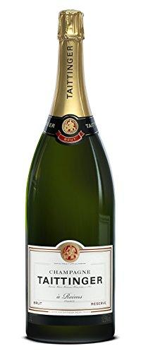 Taittinger Brut Reserve Champagner Jerobom 3,0 L in Holzkiste