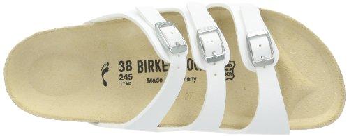 Birkenstock Classic FLORIDA BF WB Damen Pantoletten Weiß (Weiß)