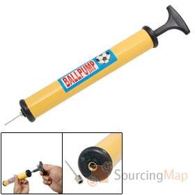 12-Inflating-Hand-Air-Pump-with-Needle-and-Flexi-Adapter-for-Bike-Football-Ball-Inflatable-Lilo-Dinghy