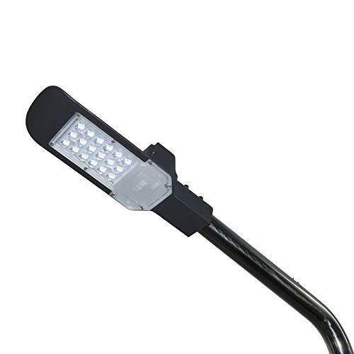 Faro proiettore led lampione 20W palo esterno armatura stradale luce fredda