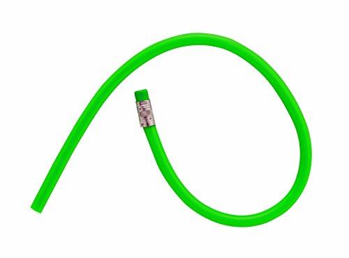 aeioubaby.com 10 Lápices Flexible Mágico Colorear Niños Infantil Manualidad Fiesta Cumpleaños Regalos Comunión Colegio (Verde 10 Unidades)