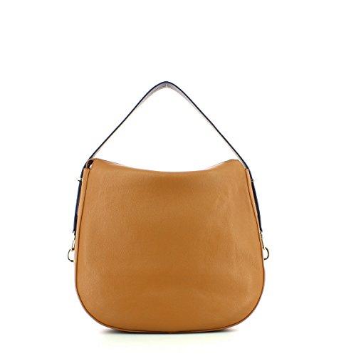 COCCINELLE IGGY SHOULDER BAG YB5130101 001 NERO braun, braun