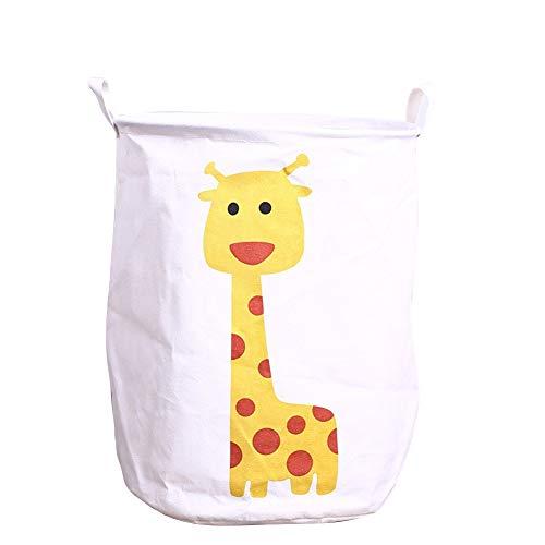 DOXMAL Wäschesammler Waeschekorb Faltbarer Wäschekorb Korb Wäsche Wäschekorb Kinderzimmer Wäschekorb Holz Wäschekorb Plastik Wäschekorb Faltbar Wäschesammler Kinderzimmer Giraffe