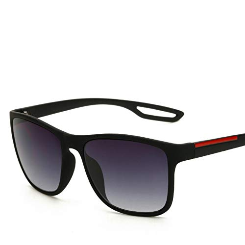 Taiyangcheng Sonnenbrille Männer Fahren Sonnenbrille Für Männer Spiegel Eyewear Männlich,Matt-schwarz