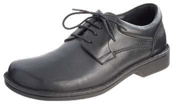 Footprints Original Wexford Cuir Moyen (pour pied moyen) 417112 Black
