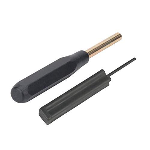 WINOMO 2 in 1 Takedown Punch Front Sight Werkzeug zerlegen Werkzeug für Glock (schwarz) - Reinigung Körner