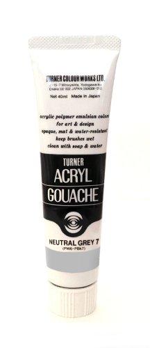 Turner Acryl Gouache 20ml neutral grau 7
