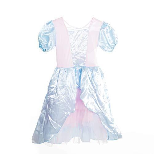 Bodysocks® Blau Prinzessin Kostüm für Mädchen (4-6 Jahre)