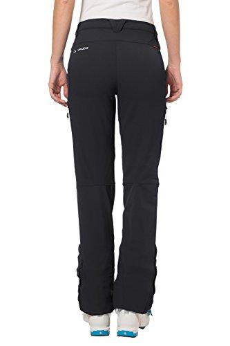 Vaude Valluga - Pantalon softshell Femme - noir 2014 Noir - noir