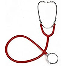 Estetoscopio profesional doble cabeza EMT para médico, enfermera, veterinario, estudiante de medicina, color amarillo