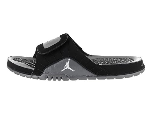 Nike Mens Jordan Hydro XII Retro Leather Sandals Noir