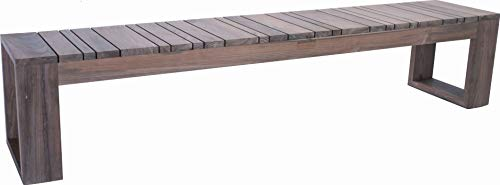 STERN Bank MAX // Old Teak // 220x40x45cm