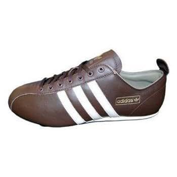 569effe4ad9a3b Adidas Pro Low Schuhe Sneaker braun Leder 46  Amazon.de  Schuhe    Handtaschen
