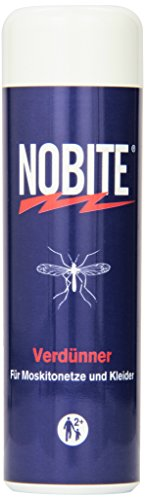 NOBITE Verdünner, Insektenabwehrmittel zum Auftragen auf Textilien (100 ml) (Fallen Vorhang Wieder)