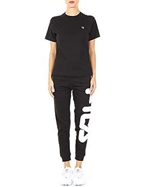 Fila Mujer 682319002 Negro Algodon T-Shirt