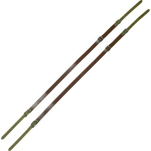 Gewa 766005 Tragriemen für Akkordeon 40/48 Bass 20mm rot (Paar)