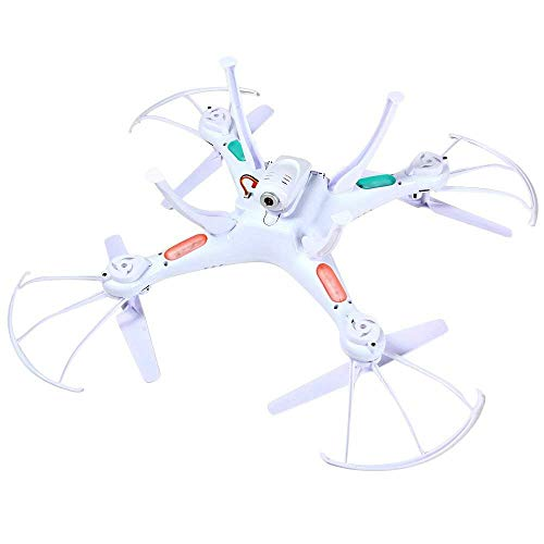 Syma X5SC Verbesserter Neue Version Syma X5SC-1 Falcon Drone HD 2.0MP Kamera 4-kanal 2,4 G Fernbedienung Quadcopter 6 Achse 3D Klapp Fliegen UFO 360 Grad Eversion Mit 4GB SD Karte – Weiß, x5sc-1 - 7