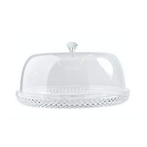 EMA 179640660-Bandeja repostería Cristal Transparente