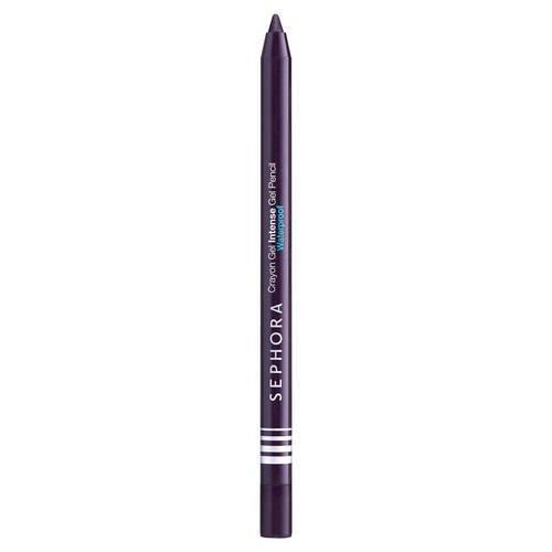 Sephora Crayon Gel Intense Waterproof Gel Pencil 04 Dark Purple, Eyeliner Effekt