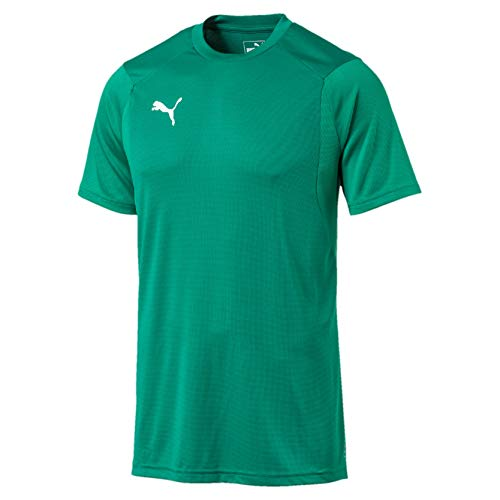 PUMA Herren Liga Training Jersey, Pepper Green White, L -
