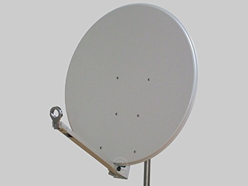 Sat Antenne Gibertini 100 cm Alu Hellgrau XP - Profi - Serie Premium Schüssel