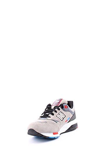 New Balance 1600 Uomo Sneaker Grigio Grigio/Blu/Nero