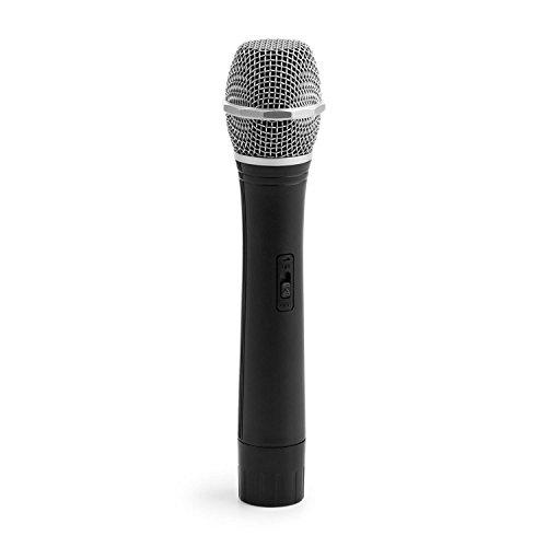 auna-fu-2-b-handheld-microfono-wireless-di-ricambio-karaoke-portata-100-metri-batteria-di-6-ore