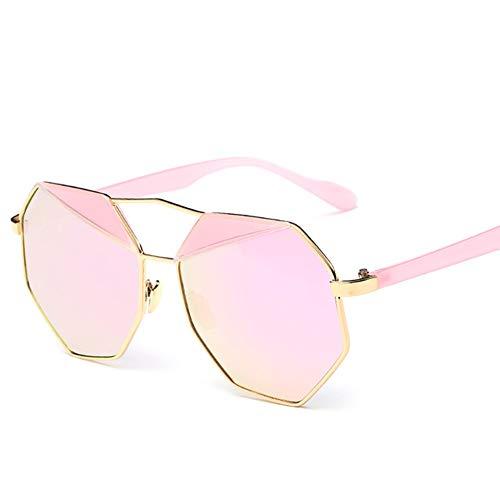GEETAC Kai Sonnenbrille für Frauen polarisiert 100% UV-Schutz Driving Party Fashion übergroßen Frauen Sonnenbrille,Pink