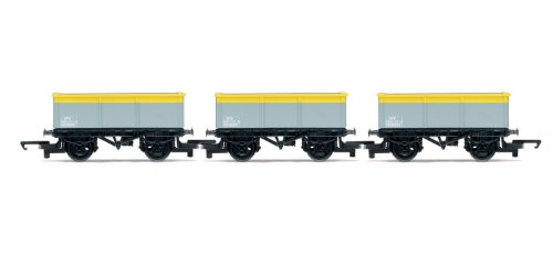Hornby - R6483 - Triple Pack Wagon Mineral Grey