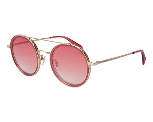 Police Sonnenbrillen Flare 1 (SPL-830 300G) gold - rot kristall - rosa verlaufend - verspiegelt