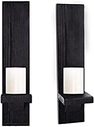 NKDJLAS Wall Candle Holder, Candle Sconce,Wall Candle Holders Decorative Set of 2,Candle Sconces Wall Decor Se
