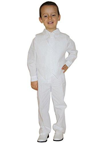 Frankreich Kostüm Jungen Für - Kostüm zur Taufe Baby Beige 5-teilig-Produkt Gespeichert und verschickt Schnell seit Frankreich, Weiß
