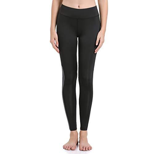 AMZSPORT Pantalones Yoga Slim Fit Mujeres Bolsillo