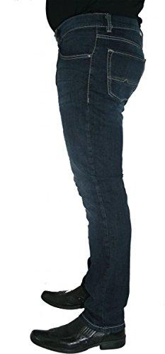 Pioneer Herren Straight Leg Jeanshose Rando Blau