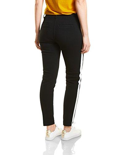 Cecil, Pantaloni Donna Nero (Black 10001)