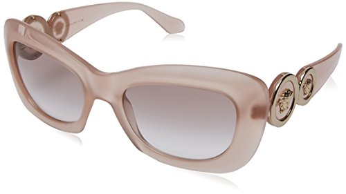 Versace 0ve4328 521313, occhiali da sole donna, oro (opal powder/browngradient), 54