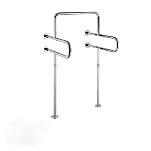ZYFFS Griffstange Bad 304 Edelstahl barrierefrei ältere Urinal Handlauf mit Beinen (Peeling, Spiegellicht) Hilfsmittel für Bad (größe : Mirror Light) - Lite-urinal