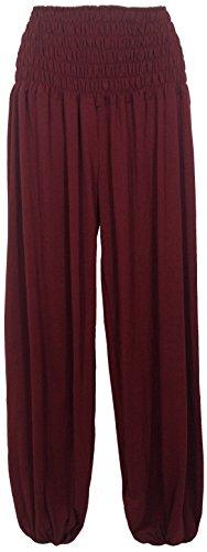 Damen Pumphose / Haremshose / Yoga Pant / Pluderhose, super bequem & luftig. Einheitsgröße / One Size/geeignet bis Größe 46