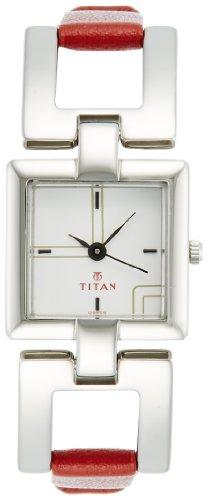 Titan Youth Analog White Dial Women's Watch - NE2484SL01