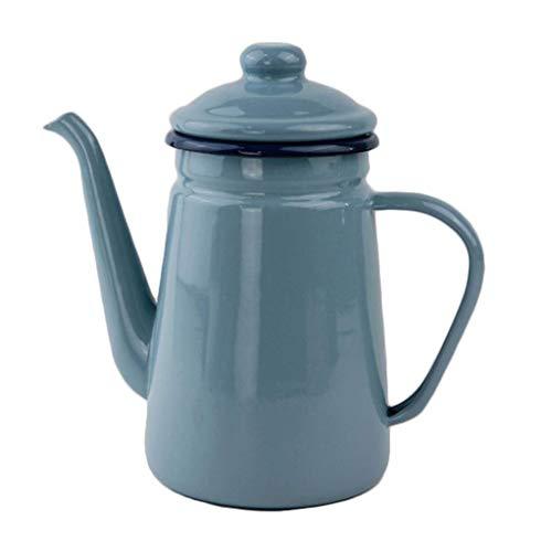 DWLXSH Hand gebrühter Kaffee-Kessel-manuelle Tropfenfänger-Kaffeemaschine, feiner Mundtopf Hitzebeständiger Wasserflasche Teekannenküchen-Öltopf